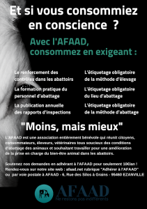 Campagne consommation AFAAD